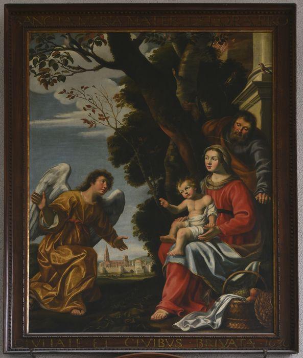 tableau votif : le Repos de la Sainte Famille, dit Voeu de Brioude, vue générale