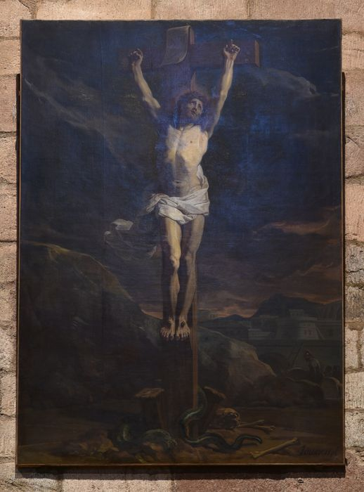 tableau : Christ en croix (le), vue générale