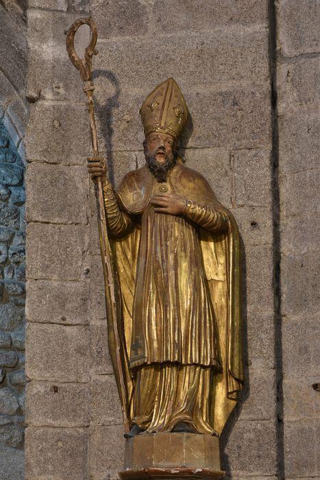 Paire de statues : Saint Privat et Saint Médard