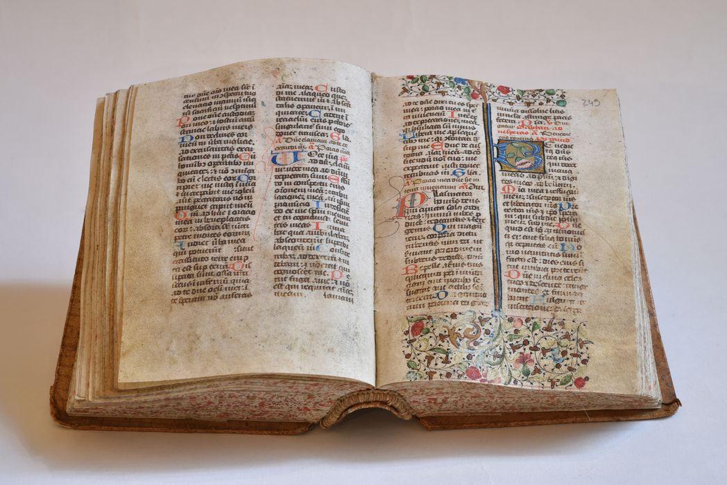 Manuscrit, dit bréviaire de l'abbaye de Pébrac, vue générale