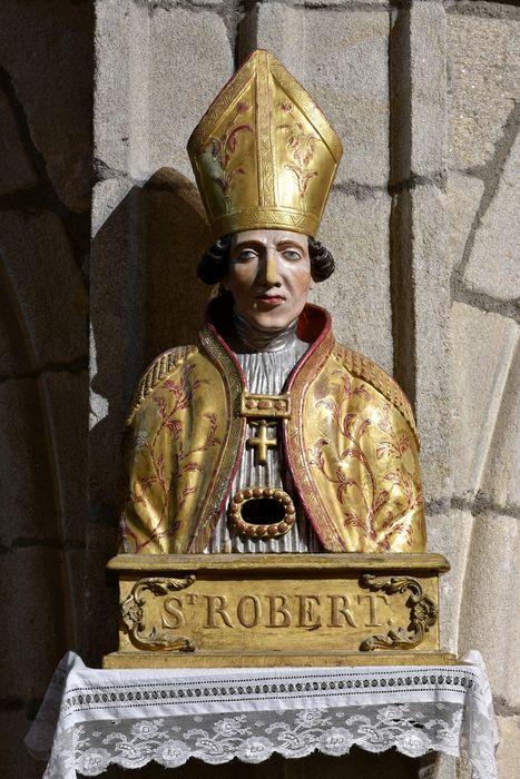 Buste-reliquaire : Saint Robert