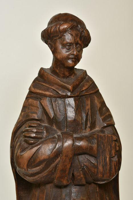 Statue : Moine
