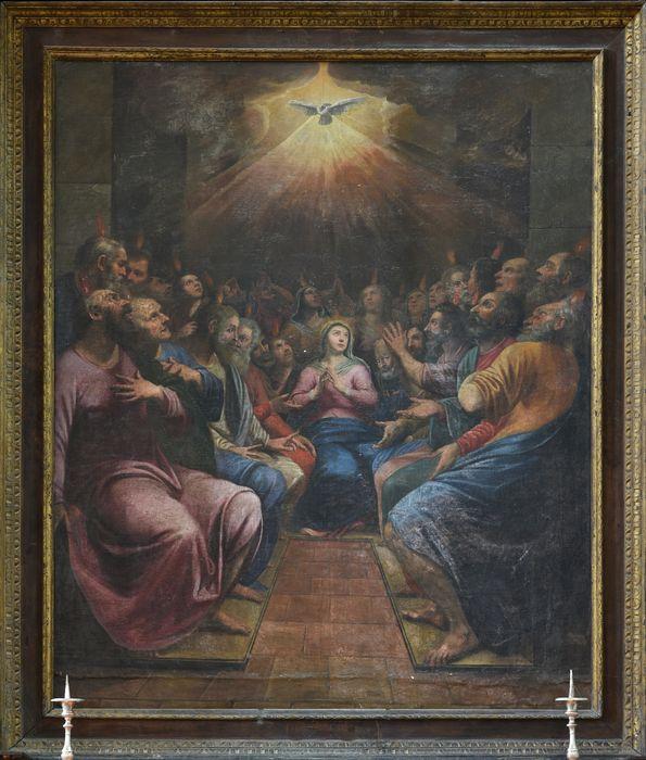 Retable de la Pentecôte, vue générale