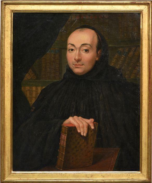 Tableau et son cadre : Portrait de Dom Vimal