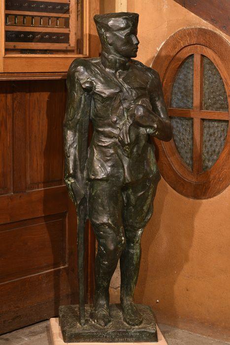 Statue : Soldat américain blessé