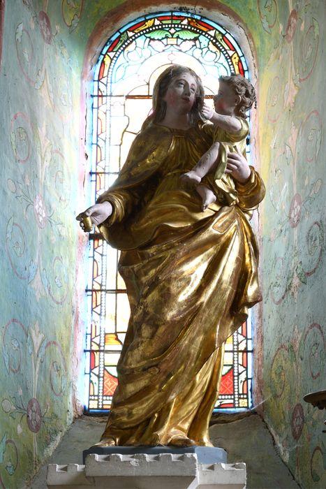 Statue de procession : Vierge