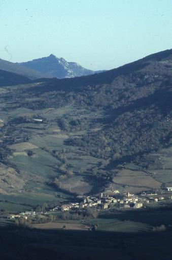 paysage; village