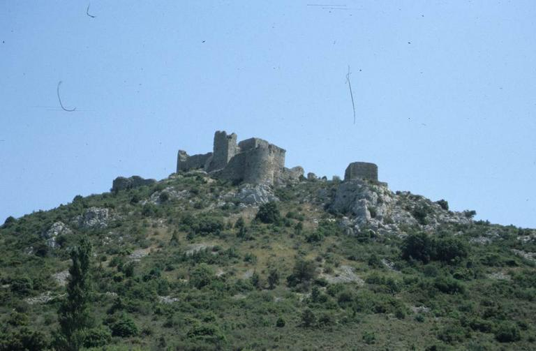 château fort d'Aguilar