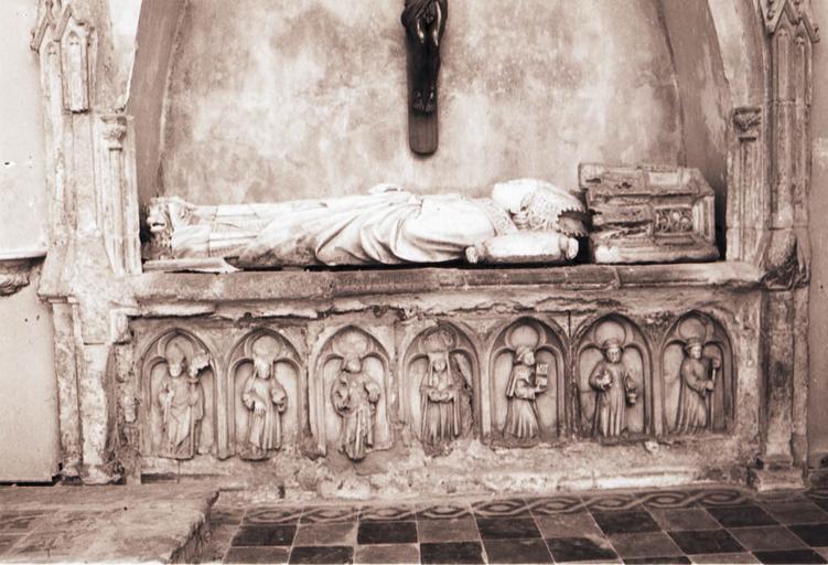 Monument funéraire de Jean de Cojordan, évêque d'Avignon puis de Mirepoix