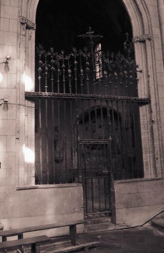 Clôture de la chapelle du Sépulcre