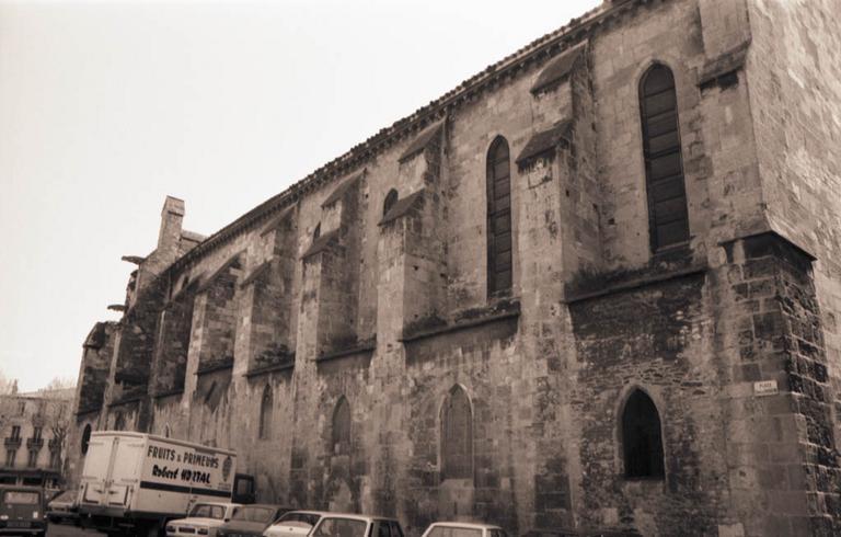 Chapelle du prieuré de bénédictins, église paroissiale Notre-Dame de Lamourguier actuellement musée lapidaire