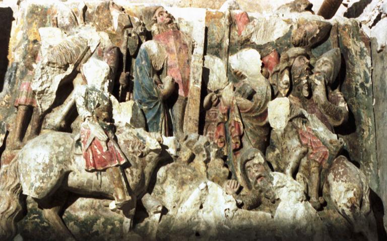 Bas-relief : L'Enfer