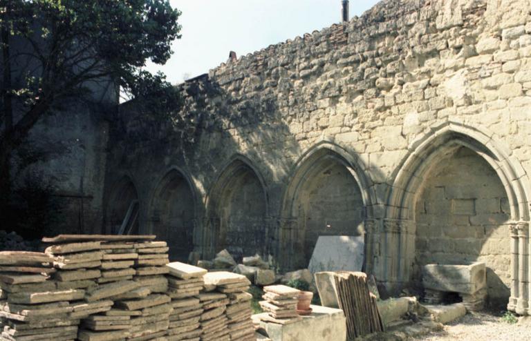 Cloître des Cordeliers (restes)