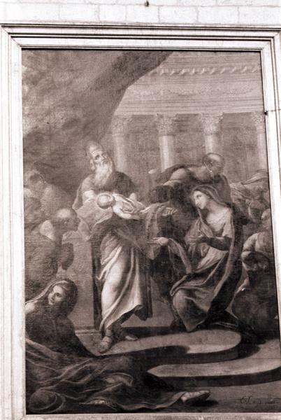 tableau : Présentation de Jésus au Temple (la)