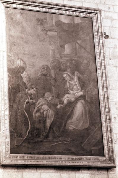 tableau : Adoration des mages (l')