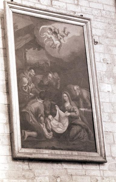 tableau : Adoration des bergers (l')