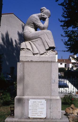 monument aux morts de la guerre de 1914-1918 ; monument aux morts de Maillol