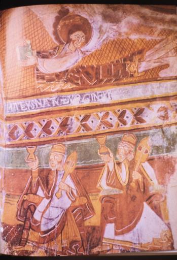 peintures monumentales de la chapelle de Saint-Martin-del-Fenouillar