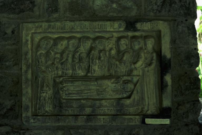 Monument funéraire de Guillaume de Serbolès, abbé de Saint-Martin