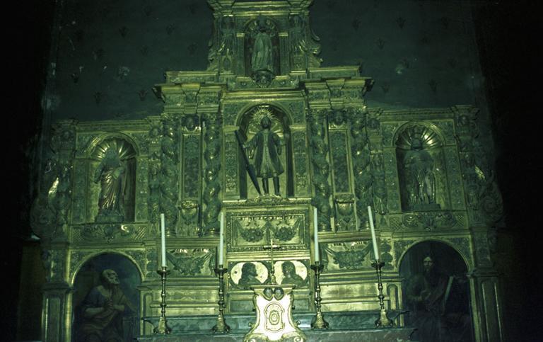 retable, tableaux (2) de saint Gaudérique