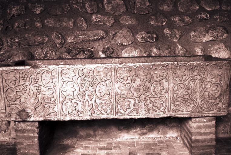 Sarcophages (4) dit de l'empereur Constant