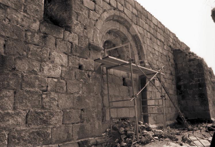 église Saint-Martin (ruines de l'ancienne)
