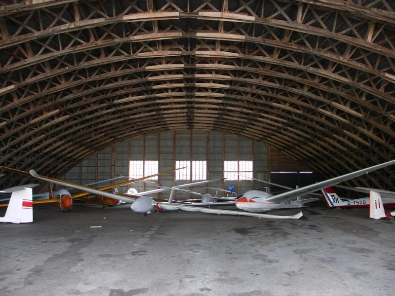centre de vol à voile de la Montagne Noire