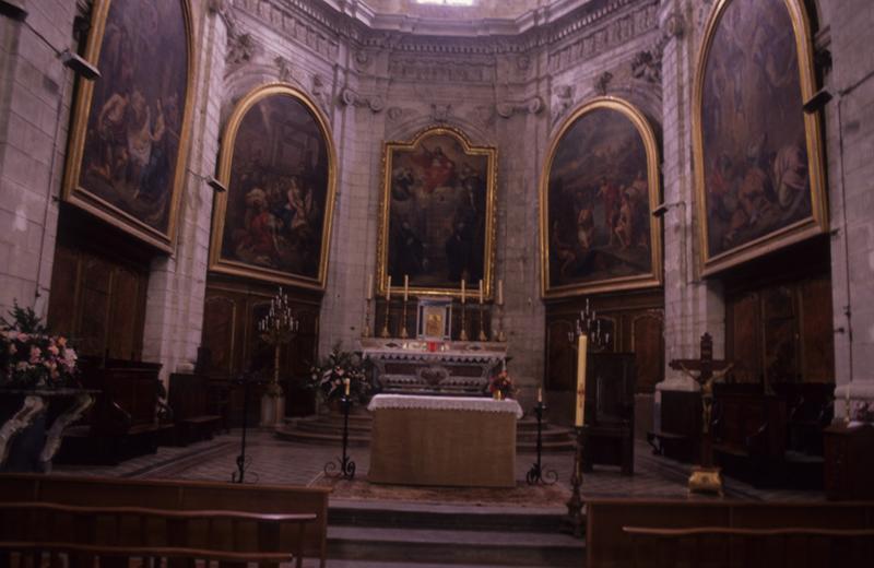 église paroissiale Saint-Sauveur ; abbatiale (ancienne)