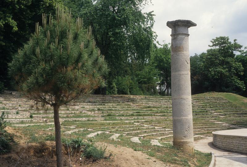 jardin du Plateau des Poètes