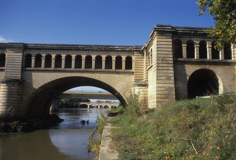 pont canal sur l'Orb