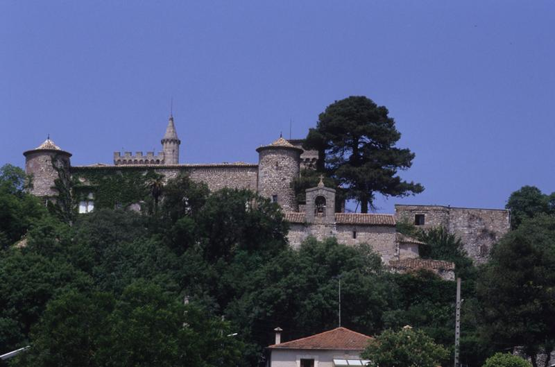 Château fort Notre-Dame-du-fort, Château