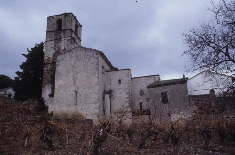 église de Saint-Xist ; cloître