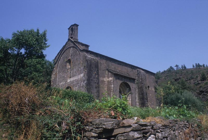 Église Notre-Dame-de-Val-Francesque (ancienne) ; actuellement temple protestant