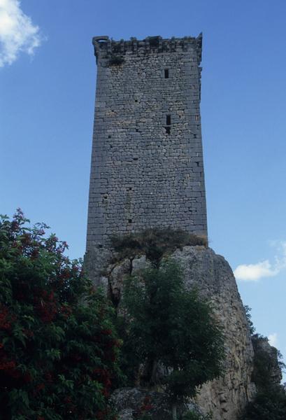 Ancien château d'Apcher