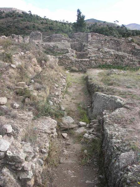 Site archéologique du Panissars, situé au col de Panissars