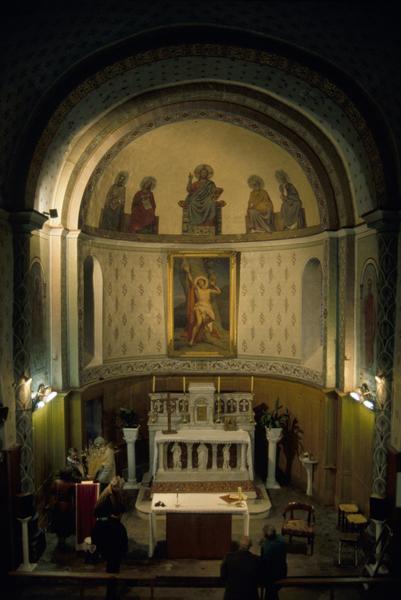 église paroissiale Saint-Sébastien