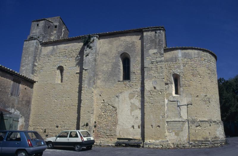 église de Saint-Etienne d' Escattes