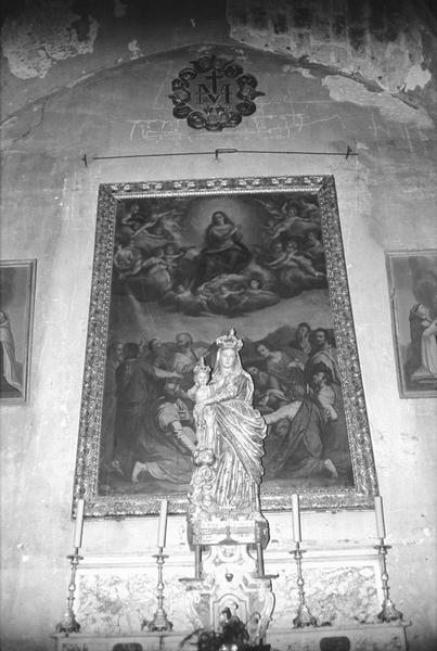 Tableau : l'Assomption de la Vierge