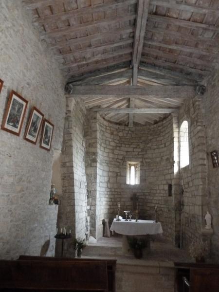 Église de Vendémies ; socle de croix