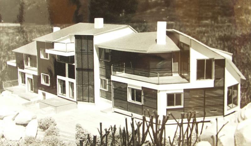 Immeuble des maisons solaires Trombe-Michel