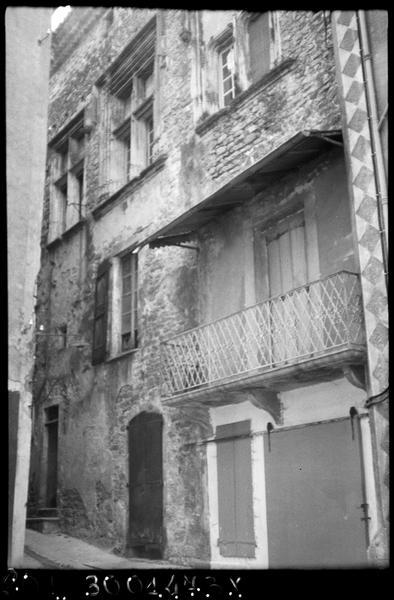 maison médiévale dite de l'Evêque