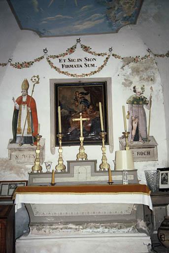 église dite chapelle Notre-Dame des Neiges et Saint-Ours