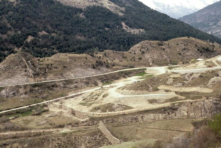 architecture militaire dite mur des Vaudois