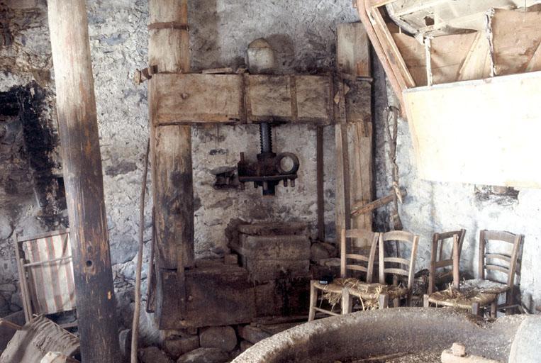 Moulin à grains, moulin à huile