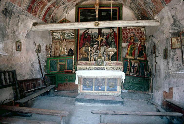 église dite chapelle Sainte-Lucie (ancienne)