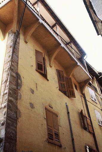 Maison datée 1580