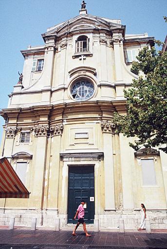 église dite chapelle de la Miséricorde ou des Pénitents Noirs, ancienne église du couvent des Théatins