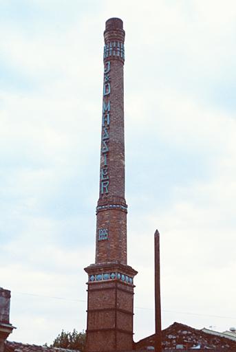 Usine de poterie dite manufacture de poteries Massier