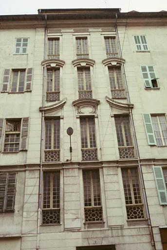 Immeuble à logements dit palais Hongran ou maison Chabaut