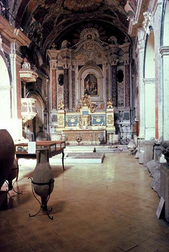 Couvent de la Visitation (ancien), église dite chapelle des Pénitents gris (ancienne), musée lapidaire